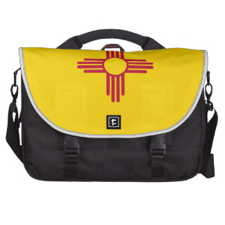 New Mexico State Flag Computer Bag