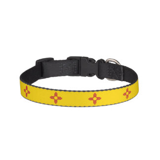 New Mexico State Flag Pet Collar