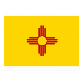 New Mexico State Flag Postcard