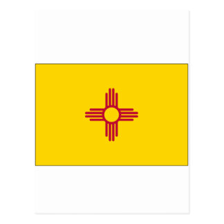 New Mexico State Flag Post Card