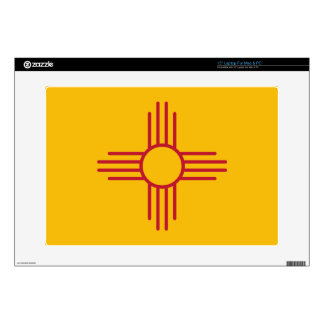 New Mexico State Flag Laptop Decal