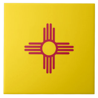 New Mexico State Flag Tile