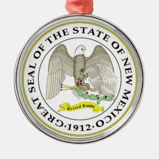 New Mexico state seal america republic symbol flag Metal Ornament