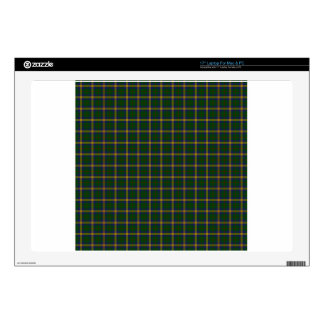 New Mexico State Tartan Decal For Laptop
