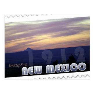 New Mexico statehood centennial 1912 postcard