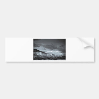 New Mexico Storm Black White Car Bumper Sticker