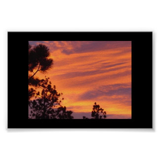 New Mexico Summer Sunset Posters