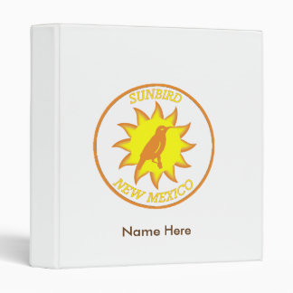 New Mexico Sunbird Shield Binder