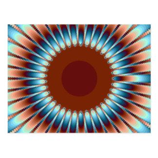 New México Sunburst1 Tarjetas Postales