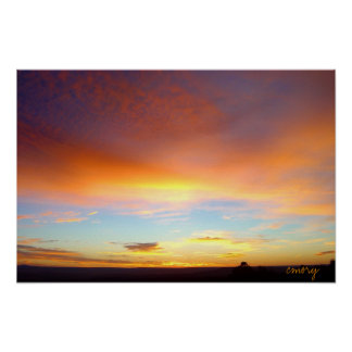 New Mexico Sunrise - Canvas Print