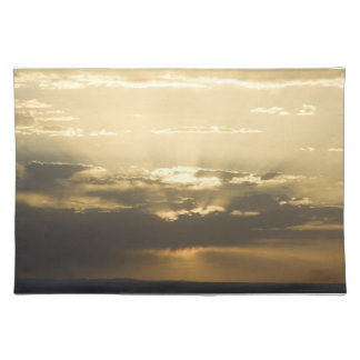 New Mexico Sunset Cloth Placemat