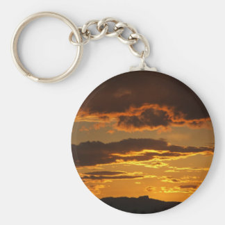 New Mexico sunset Keychain