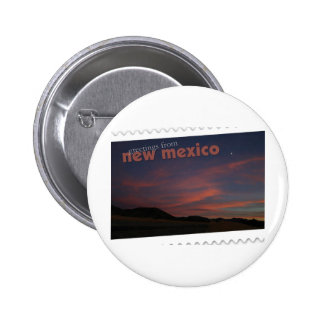 New Mexico sunset Pinback Button
