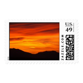 New mexico sunset stamp
