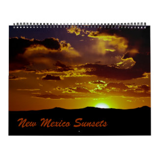 New Mexico Sunsets Calendar