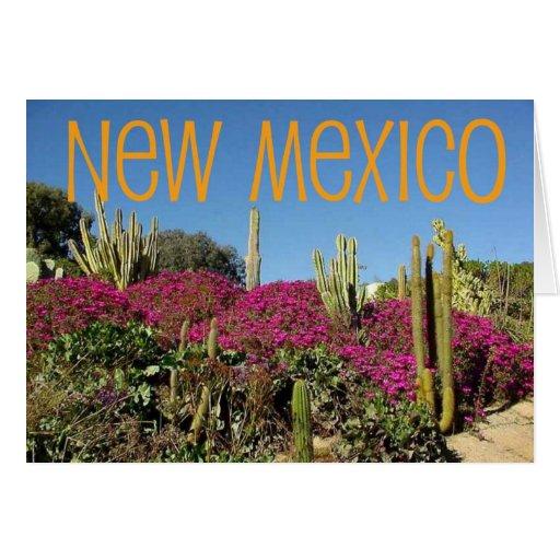 New México Tarjeta De Felicitación