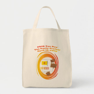 New Mexico Tax Day Tea Party Protest Bags