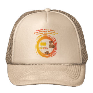 New Mexico Tax Day Tea Party Protest Hat