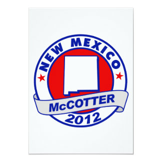 New Mexico Thad McCotter Card