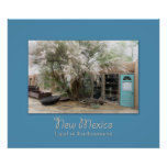 New Mexico Turquoise Trail Shop Poster
