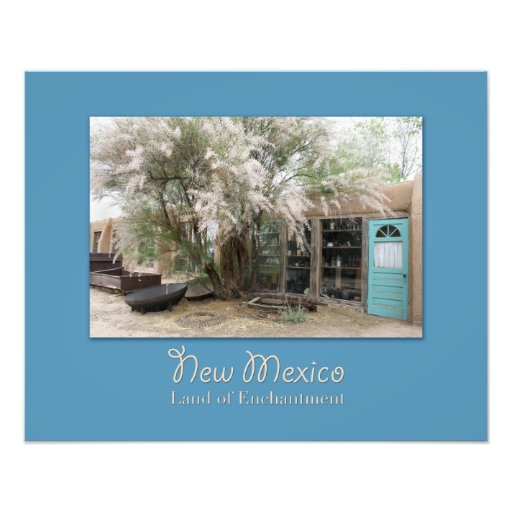 New Mexico Turquoise Trail Shops Photo Print