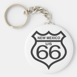 New Mexico US Route 66 Keychain