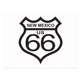 New Mexico US Route 66 Postcard