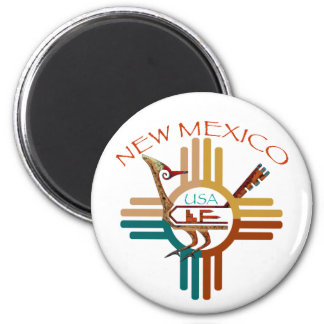 New Mexico, USA 2 Inch Round Magnet