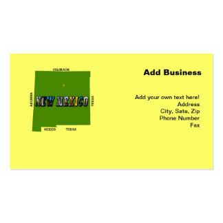 New Mexico, USA Business Cards