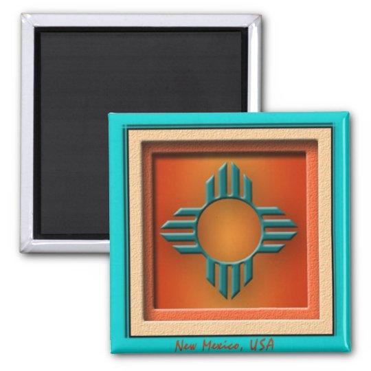 New Mexico USA Magnet
