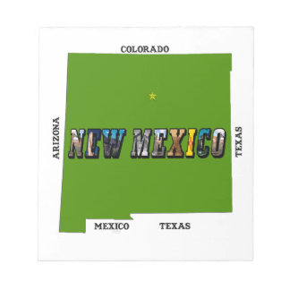 New Mexico, USA Notepad