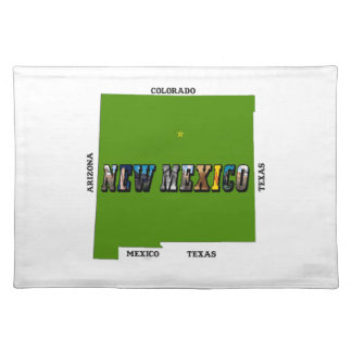 New Mexico, USA Placemat