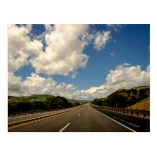 New Mexico USA Road & Sky Postcard