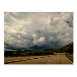 New Mexico USA Storm Ahead Postcard
