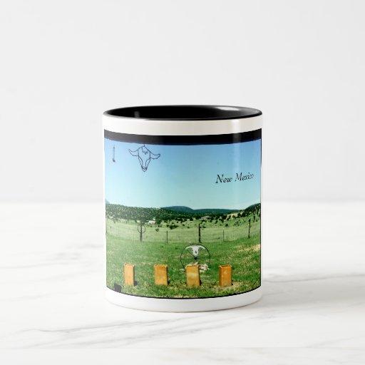 New Mexico Vistas Two-Tone Coffee Mug