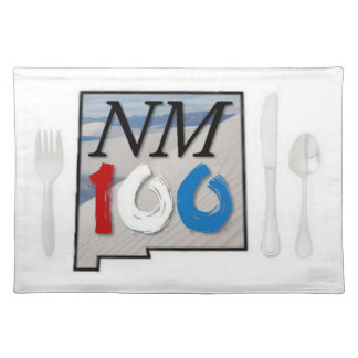 New Mexico white sands placemat