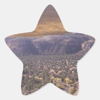 New Mexico Wilderness Star Sticker