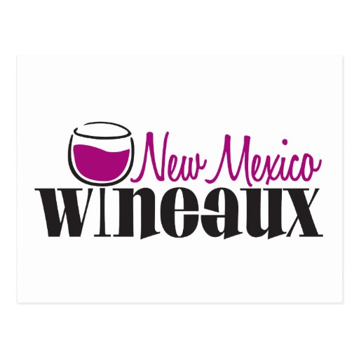 New México Wineaux Tarjeta Postal