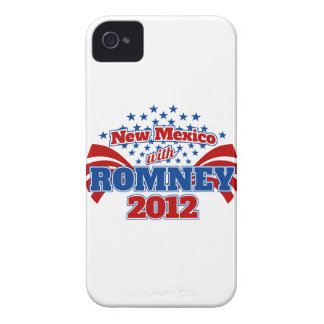 New Mexico with Romney 2012 iPhone 4 Cases