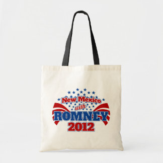 New Mexico with Romney 2012 Tote Bag