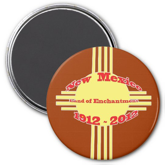 New Mexico - Zia Centennial Celebration Magnet