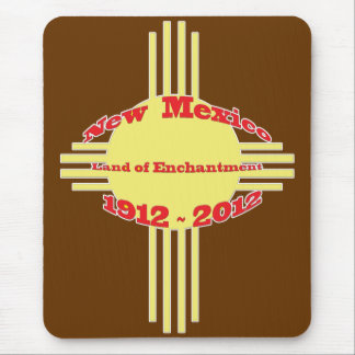 New Mexico - Zia Centennial Celebration Mouse Pad