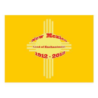 New Mexico - Zia Centennial Celebration Postcard