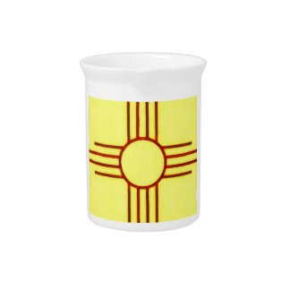 New Mexico Zia Drink Pitcher