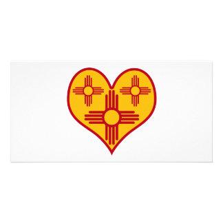 New Mexico Zia Heart Card
