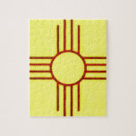 New Mexico Zia Jigsaw Puzzle