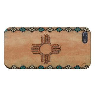 New México Zia (sol) iPhone 5 Cárcasa