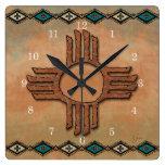 New México Zia (sol) Relojes