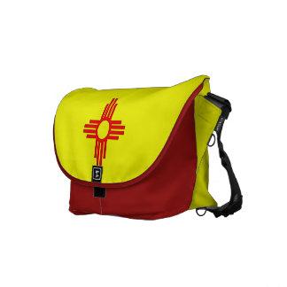 New Mexico Zia Sun Symbol Messenger Bag