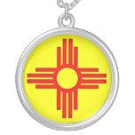 New Mexico Zia Sun Symbol Pendants